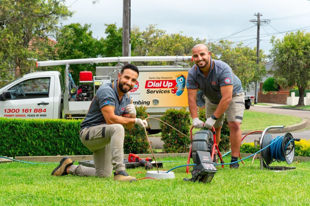 dial up plumbing services